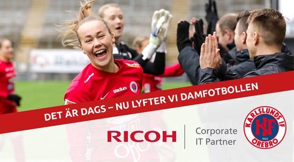 Ricoh IT-Partner kliver in som partner till KIF Örebro
